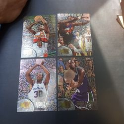 ROOKIE CARDS : Alan Henderson, Michael Finley, Rasheed Wallace And Shawn Respert Thumbnail