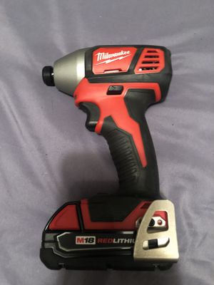 Milwaukee m18 impact drill for Sale in Severna Park, MD