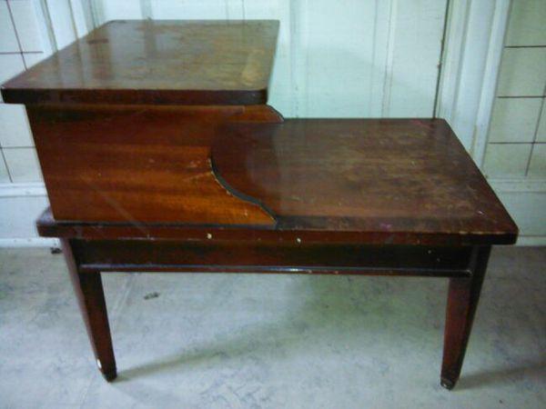 STEP * END TABLE * FURNITURE OLD ANTIQUE VINTAGE * 793STEP T230.  Washington, DC - STEP * END TABLE * FURNITURE OLD ANTIQUE VINTAGE