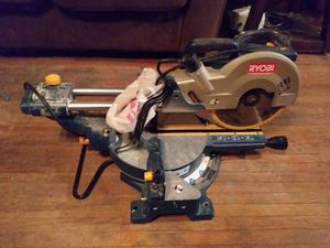 Ryobi chop saw in great shape for a low price for Sale in OH, US