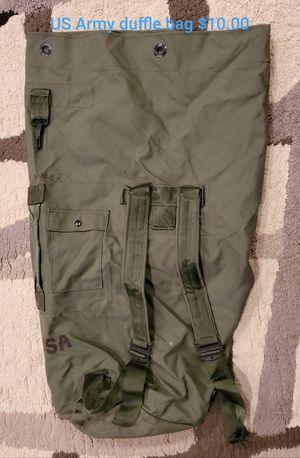 Photo Army duffle bag