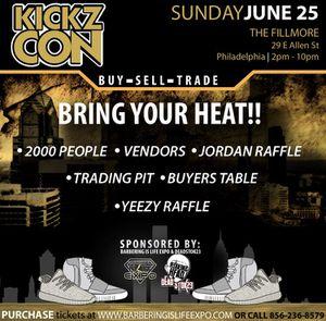 Kickz Con Philly!! Tickets $35 for Sale in Philadelphia, PA
