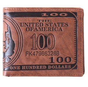 $100 bill leather wallet for Sale in Rockville, MD