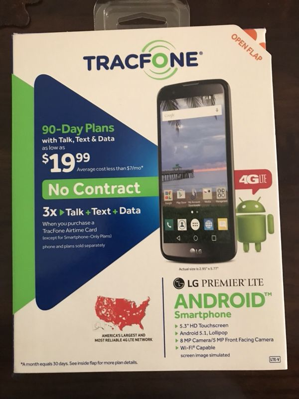 TRACFONE LG PREMIER LTE for Sale in El Monte, CA - OfferUp