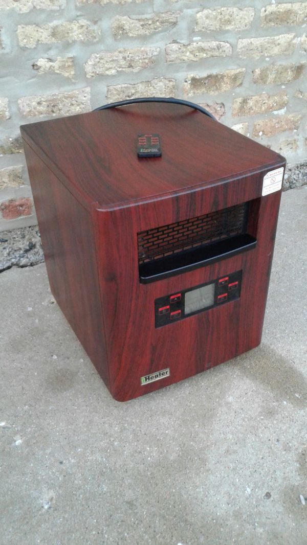iheater electric heater with remote household in zion il offerup