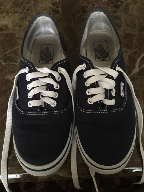 7ace286b540a15 Navy blue vans size 8 Women 6.5 Men (Clothing   Shoes) in Port St. Lucie