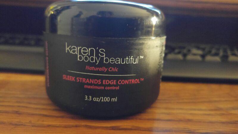 New Karen's Body Beautiful Sleek Strands Edge Control