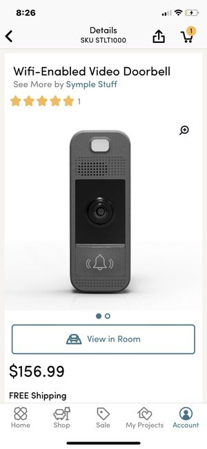 video doorbell camera for Sale in Hialeah, FL