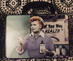 I Love Lucy lunch box. (About 3/4 size of regular metal lunch boxes) Thumbnail
