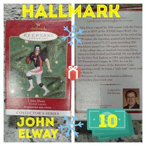 Hallmark John elway Xmas ornament for Sale in Houston, TX