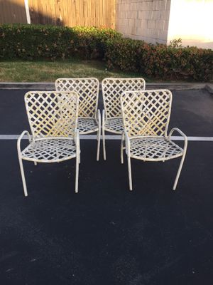 Brown Jordan Tamiami Patio Chairs