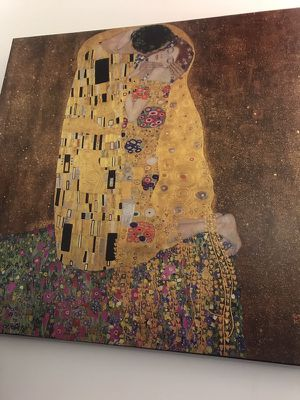 The Kiss by Gustav Klimt for Sale in Boston, MA