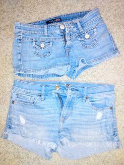 Jean shorts Thumbnail
