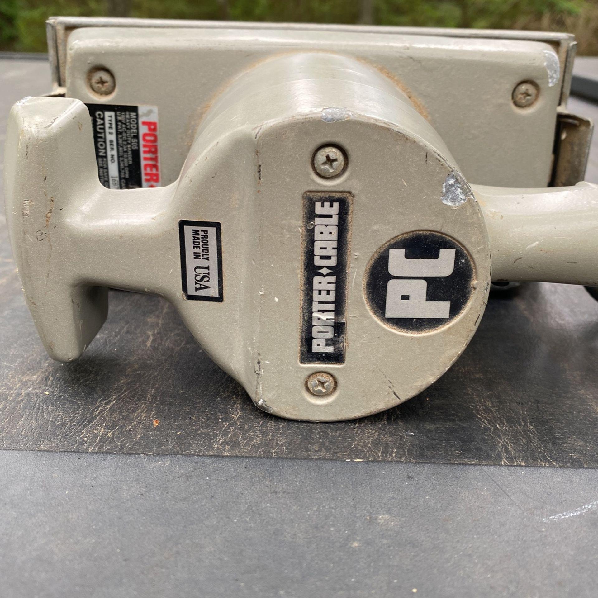 Sander, Porter Cable