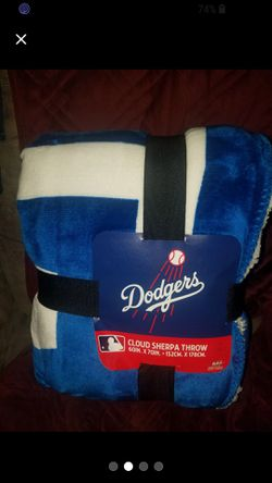 Dodgers Officially Licensed MLB Cloud Throw Thumbnail