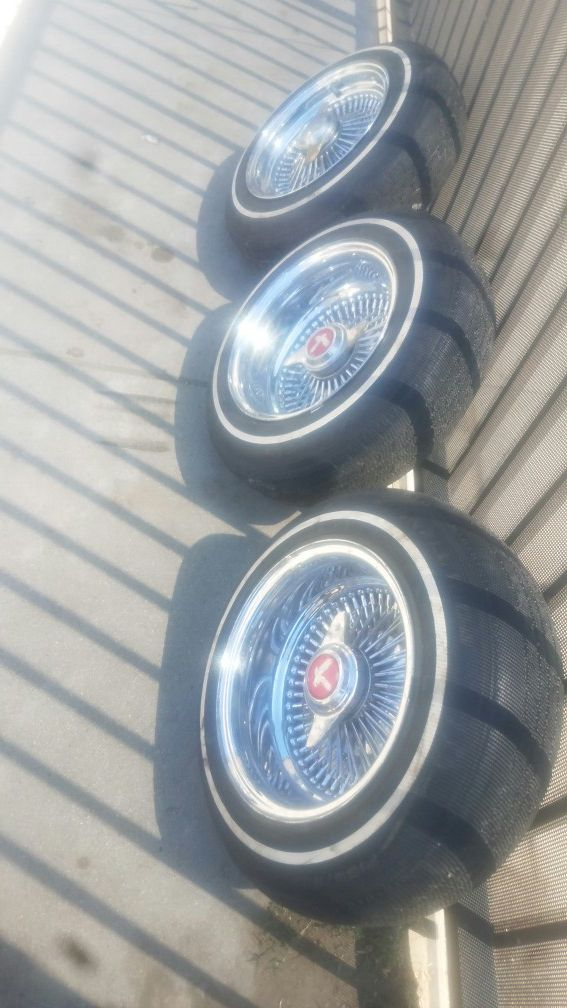 Wire wheels for Sale in Los Angeles, CA - OfferUp
