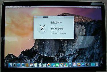Apple MacBook Pro Thumbnail