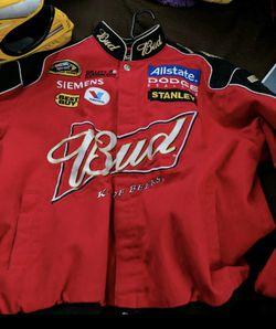 LARGE Dale Earnhardt Jr. nascar jacket Thumbnail