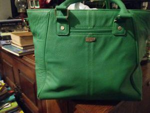 Photo Lime green purse jewii brand