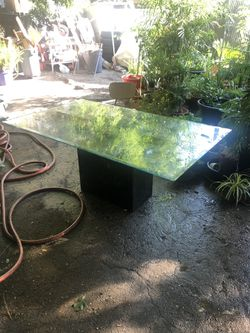 Dining table glass Thumbnail