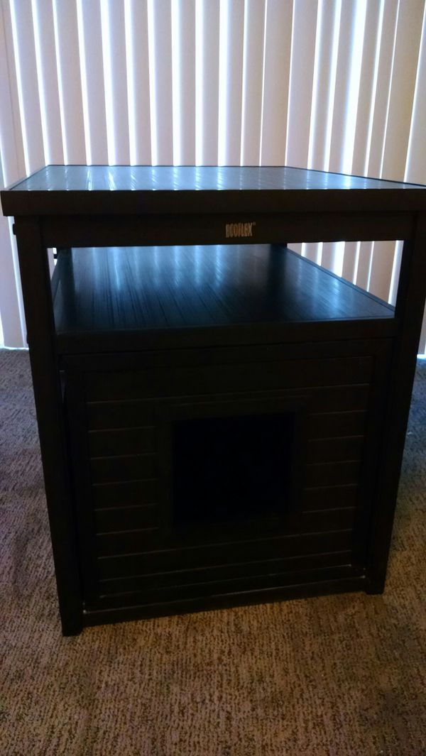 Ecoflex Litter Loo End Table Cat Box Holder For Sale In Bellevue