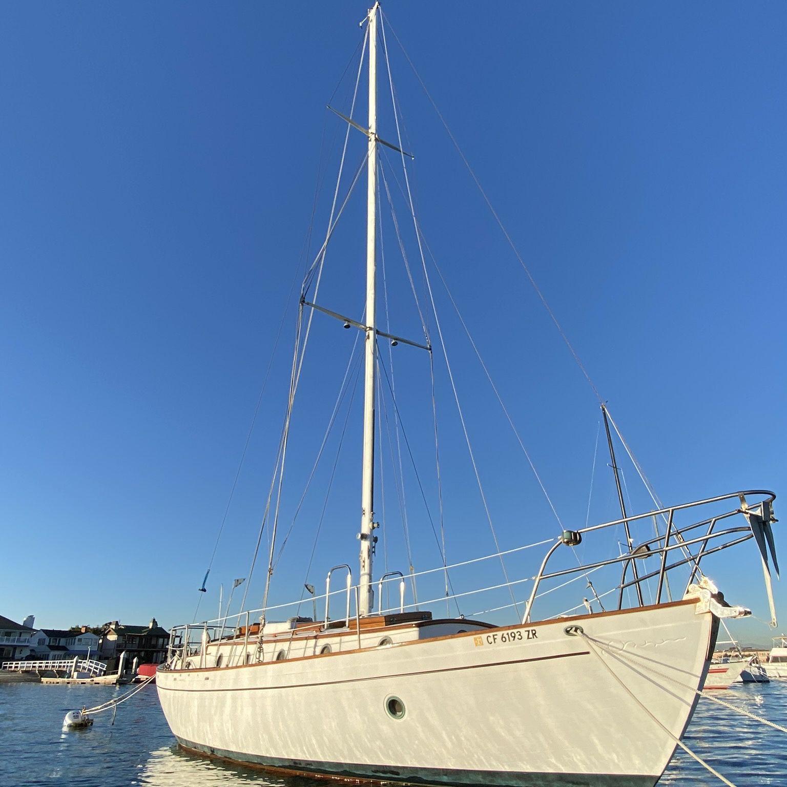Photo 37 Rafiki Cutter Sailboat 37 Ft World Cruising Capable Boat Yacht Cruiser Tayana