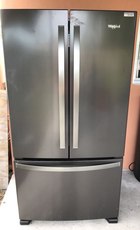 refrigerator with internal water dispenser. Ft. French Door Refrigerator With Internal Water Dispenser - Black Stainless Steel Everything Working For Sale In Miami Gardens, FL OfferUp