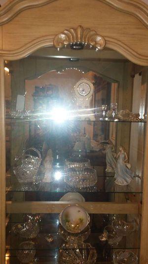 Curio Cabinet Glass for Sale in Dallas, TX