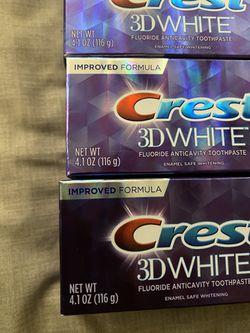 5 Pastas Dental Crest 4.0…0z X Thumbnail