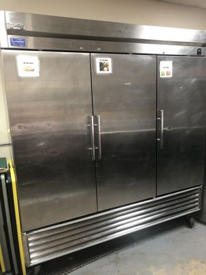 Photo Superior 3- Door Freezer. Best Offer gets it!!! Going out of business.