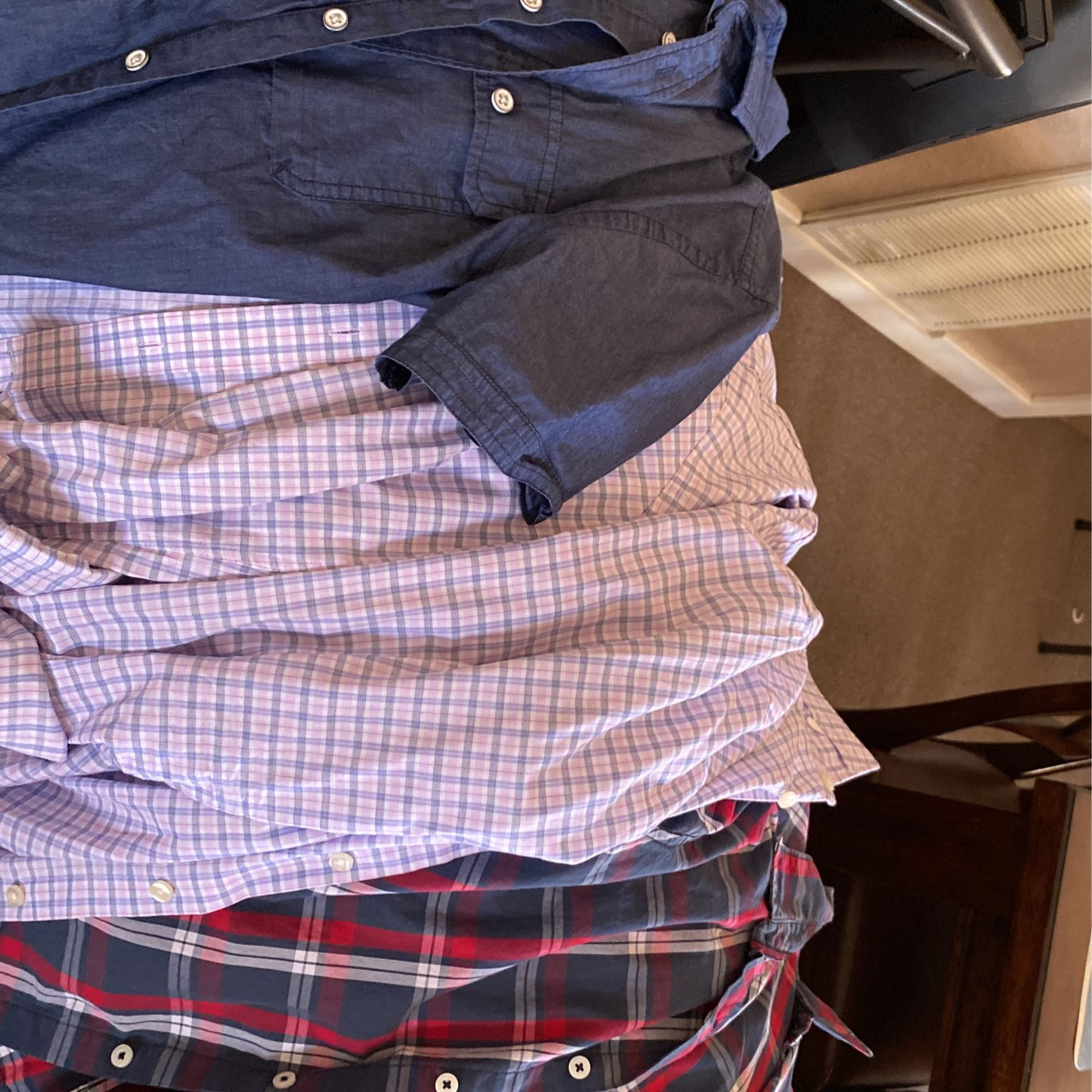 Button Up Shirts And Tees