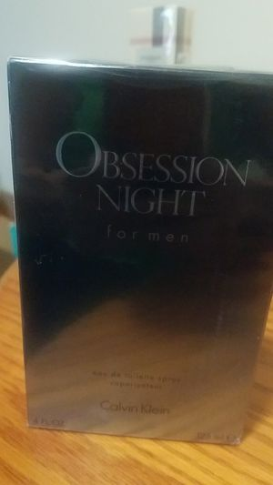 Autentic Parfum obsession night calvin Klein for men for Sale in Silver Spring, MD