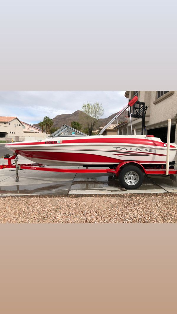 Boat for sale! tracker tahoe q4