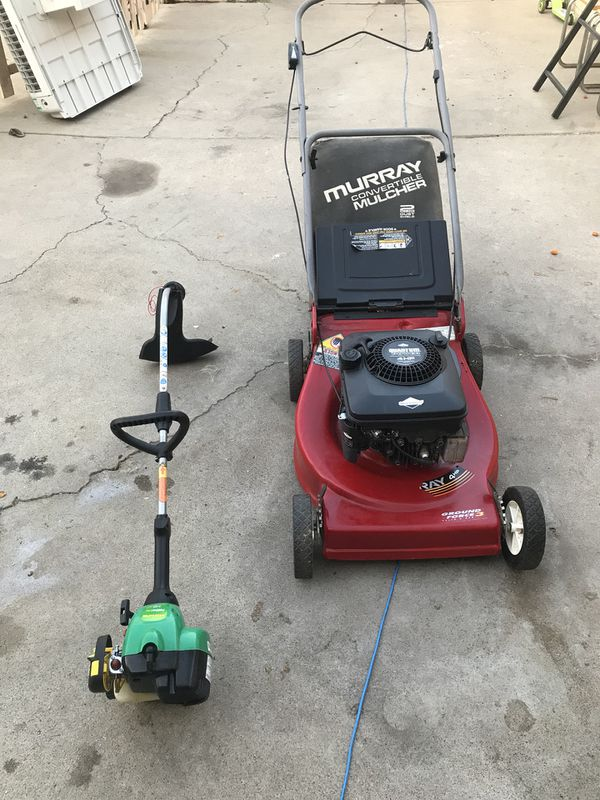 Murray lawnmower and weedeater feather lite for Sale in San Diego, CA -  OfferUp