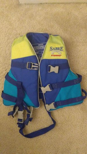 Child's life vest/flotation device (30-50lbs) for Sale in Fairfax, VA
