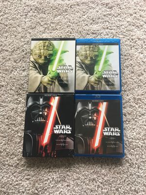 Star Wars Complete Saga - Blu-ray + DVD for Sale in Centreville, VA