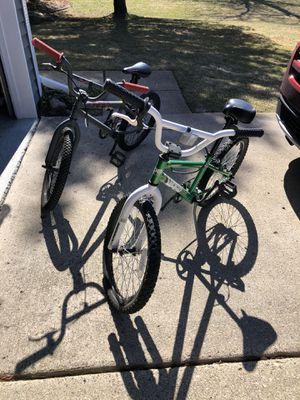Photo 2 Boys 20 inch BMX bikes