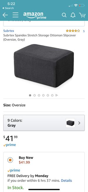 Brand new ottoman cover - for Sale in Austin, TX