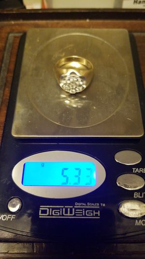 MENS GOLD DAIMOND CLUSTER RING for Sale in West Springfield, VA