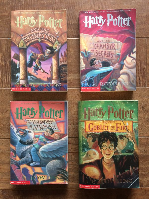 Harry Potter Book Set 1 4 For Sale In Sedro Woolley Wa Offerup