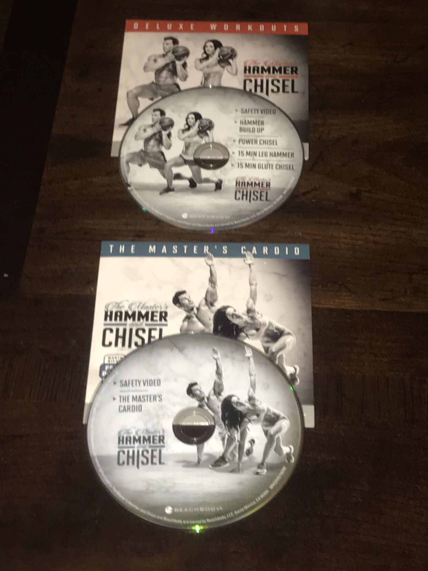 Beachbody The Master's Hammer And Chisel Workout dvd Set.