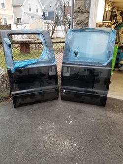 Ford super dury crew cab rear rust free doors Thumbnail