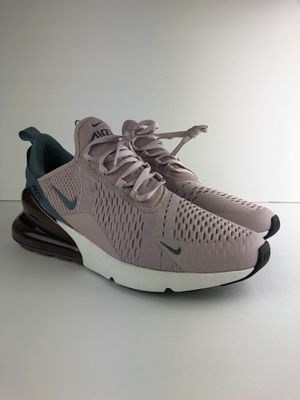 pretty nice 00b1f fb550 NIKE AIR MAX 270 PARTICLE ROSE CELESTIAL TEAL WOMENS SIZE 12AH6789-602 for  Sale in Highland, CA - OfferUp
