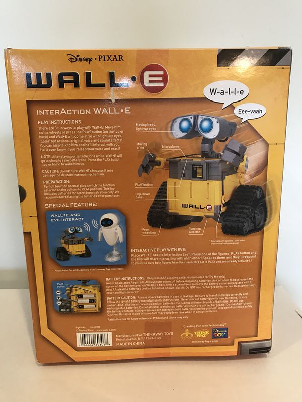 Wall E Blu Ray Robot For Sale In Cincinnati Oh Offerup