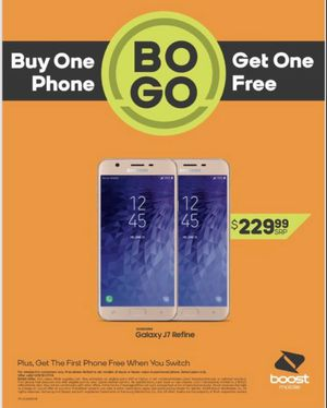 J7 free when you switch BoGo J7 free with new number! for Sale in OH, US