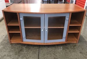 Glass Tv console $185 for Sale in Montgomery Village, MD