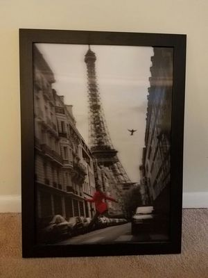 3D Picture & Frame of Paris Eiffel Tower for Sale in Atlanta, GA
