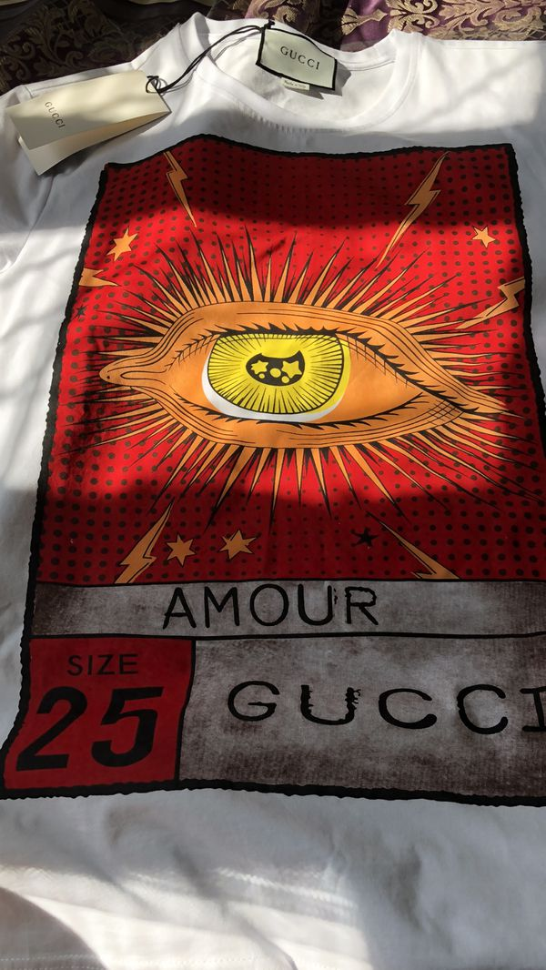 d153f6b6d Gucci Amour Eye T-Shirt Size Med/Large for Sale in Southfield, MI ...