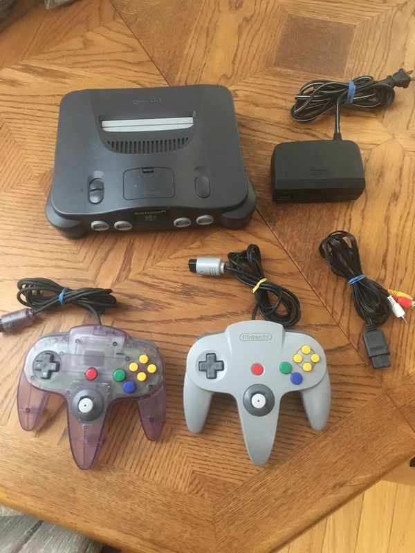 Nintendo 64 / n64 with 2 controllers for Sale in Lakewood, CO - OfferUp