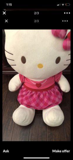 Large hello kitty stuffed character Thumbnail